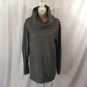Merona long sleeve cowlneck sweater dress tunic